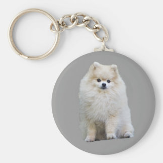 Pomeranian Keychain