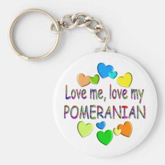 POMERANIAN KEYCHAINS