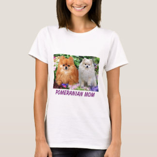 Pomeranian Ladies T-Shirt