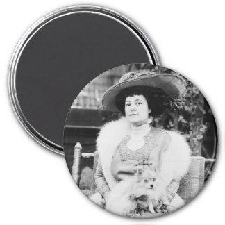 Pomeranian Lady Magnet
