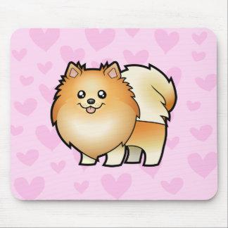 Pomeranian Love Mouse Mat