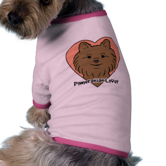 Pomeranian Lover Dog Clothes