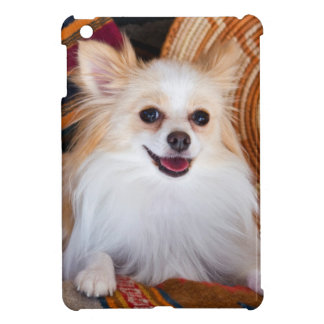Pomeranian Lying On Blankets Case For The iPad Mini