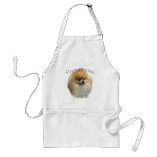 Pomeranian Mom 2 Standard Apron