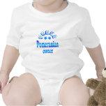 Pomeranian Owner Baby Bodysuits