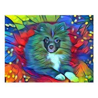 Pomeranian Post Card