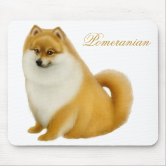 Pomeranian Puppy Mousepad