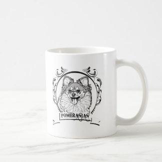 Pomeranian T-shirt Mugs
