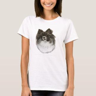 Pomeranian T shirt with original artwork