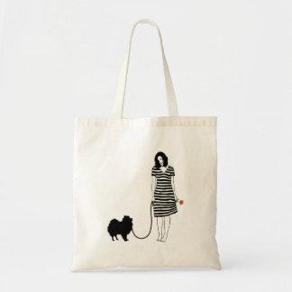 Pomeranian Tote Bag