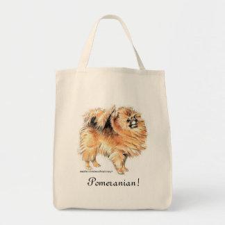 Pomeranian! Tote Bag