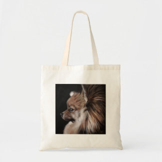 Pomeranian Tote Budget Tote Bag