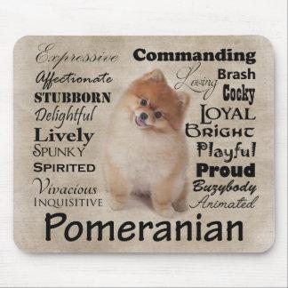 Pomeranian Traits Mousepad