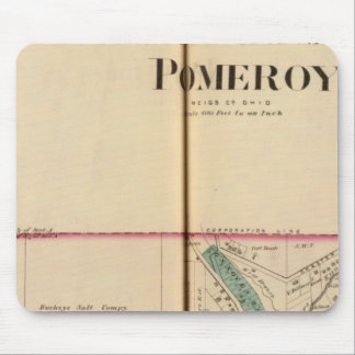 Pomeroy, West Virginia Mouse Mat