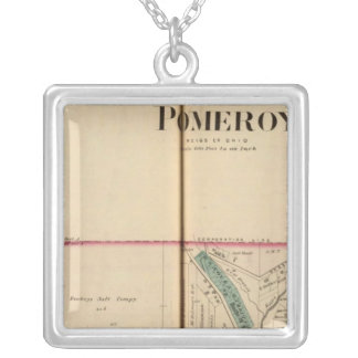 Pomeroy, West Virginia Silver Plated Necklace