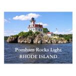 Pomham Rocks Light, Rhode Island Postcard