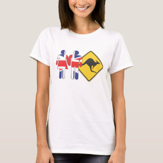 Pommie Couple Down Under T-Shirt