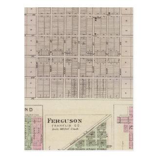 Pomona, Richmond, Ferguson and Peoria Postcard