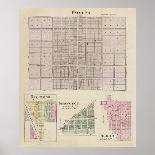 Pomona, Richmond, Ferguson and Peoria Poster