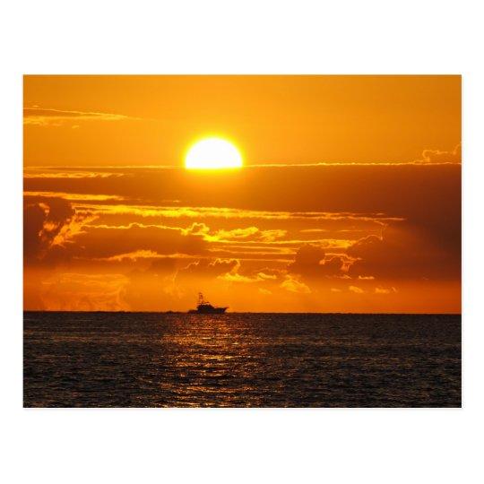 Pompano Beach Florida Postcard