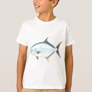 Pompano Florida fish vector illustration T-Shirt