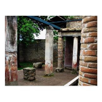 Pompei - Ruins of a Villa Post Cards