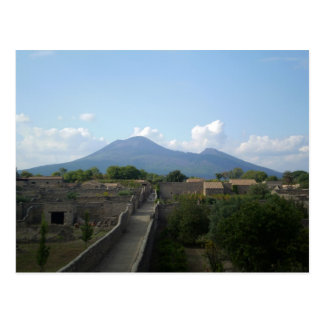 Pompeii after the Volcano Postcard