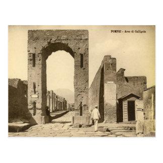 Pompeii, Arch of Caligula Postcard