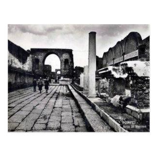 Pompeii, Arch of Nero Postcard