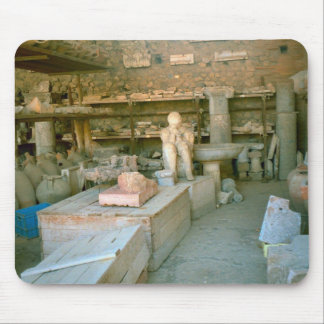 Pompeii, Artefacts in store room Mouse Pad