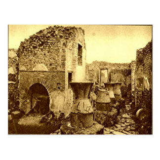Pompeii, Bakery with ovens Postcard
