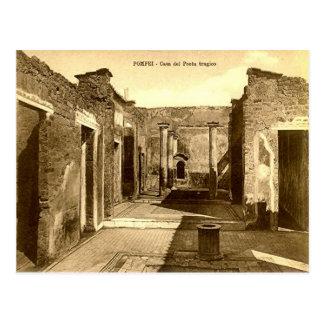 Pompeii, CHouse of the poet Postcard