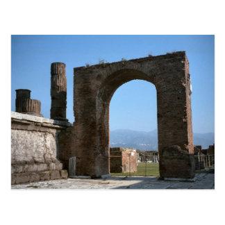 Pompeii, excavated Roman city Postcard