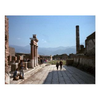 Pompeii, Forum Postcard