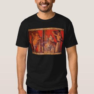Pompeii Fresco #1 (Villa of the Mysteries) T Shirts