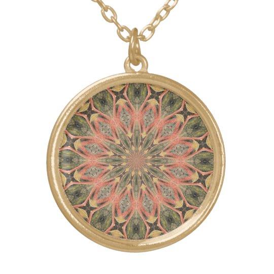 Pompeii Garden Fresco Companion Gold Plated Necklace