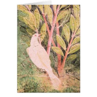 Pompeii Garden Fresco Greeting Card