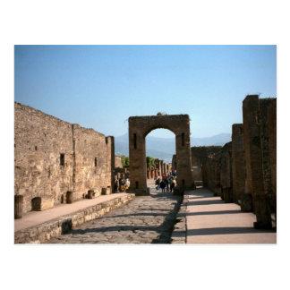Pompeii, Gateway into the Forum Postcard