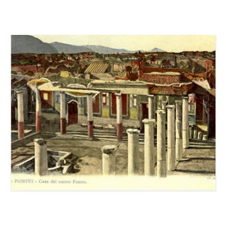 Pompeii, General view of town Postcard