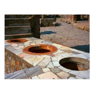 Pompeii, Grain measures Postcard