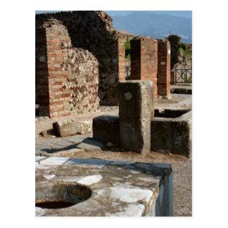 Pompeii, Grain shop Postcard