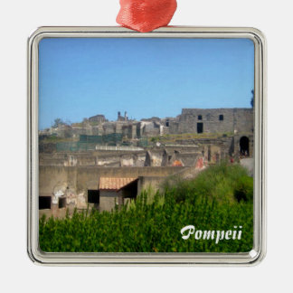 Pompeii Italy Christmas Ornament