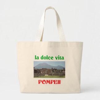 Pompeii Italy Jumbo Tote Bag