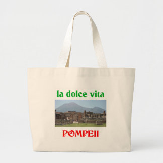 Pompeii Italy Large Tote Bag