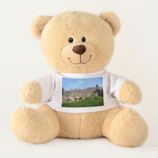 Pompeii Italy Teddy Bear