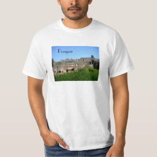 Pompeii Italy Tee Shirts