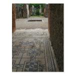 Pompeii Mosaic Floor