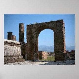 Pompeii, Roman gateway Poster