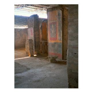 Pompeii, Roman murals Postcard