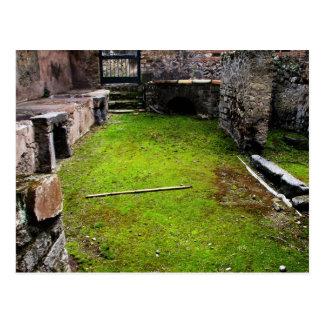 Pompeii - Ruins of a House Postcard